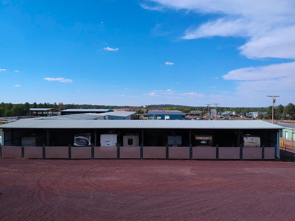Alpine Storage in Show Low AZ, RV parking.