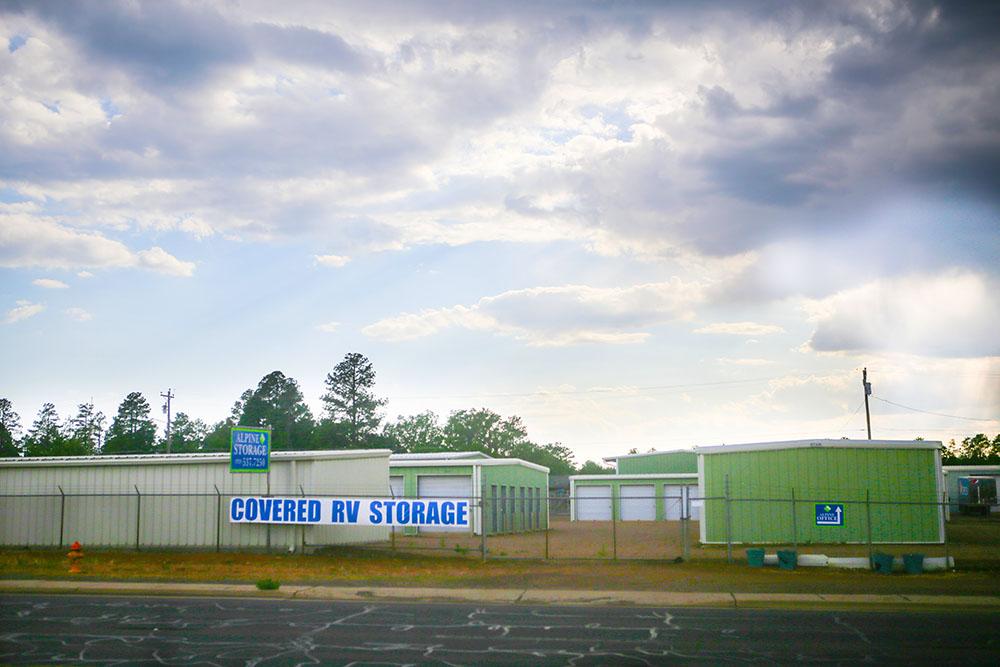 Alpine Storage in Show Low AZ, front view